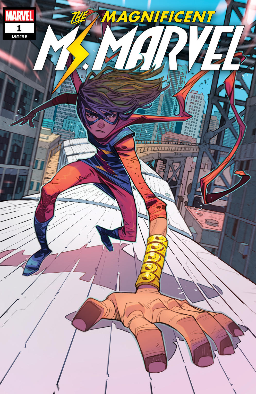 Cover of Magnificent Ms. Marvel