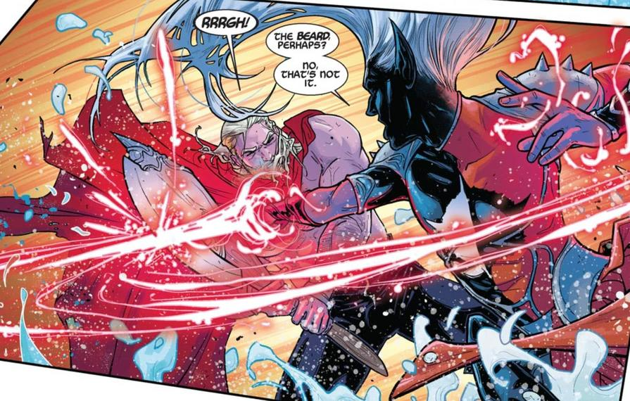 Malekith fights Thor