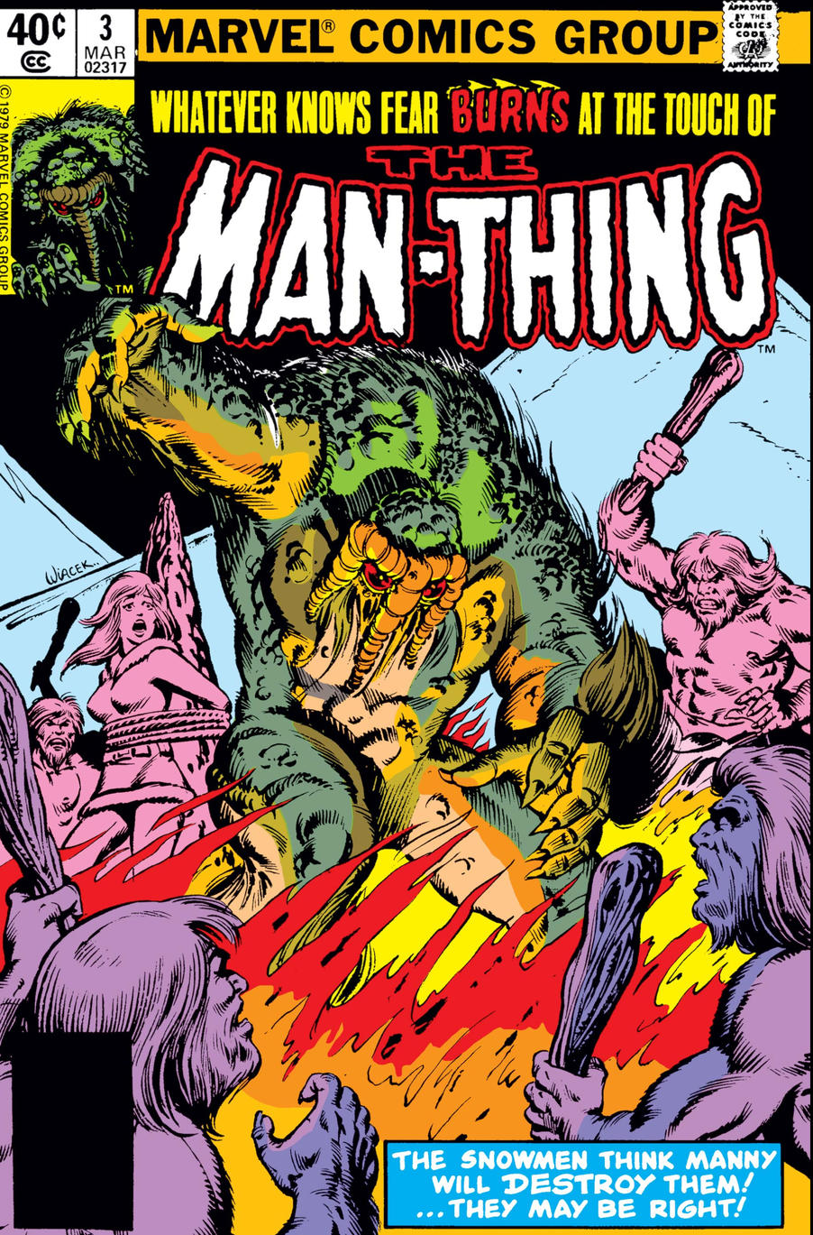 Man-Thing 3 cover