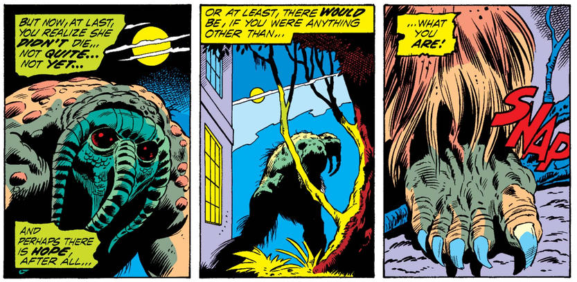 Man-Thing in Astonishing Tales
