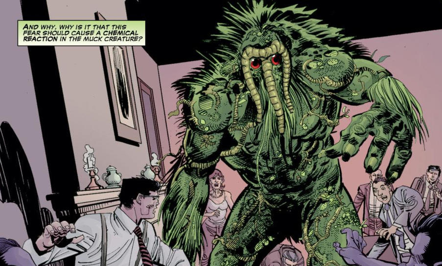 Man-Thing scares diners