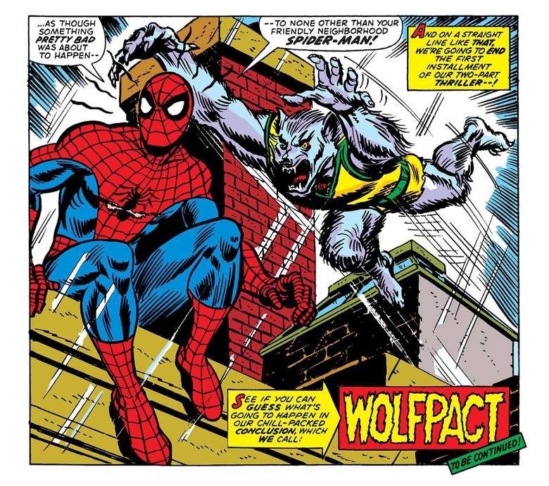 AMAZING SPIDER-MAN (1963) #124 Man-Wolf