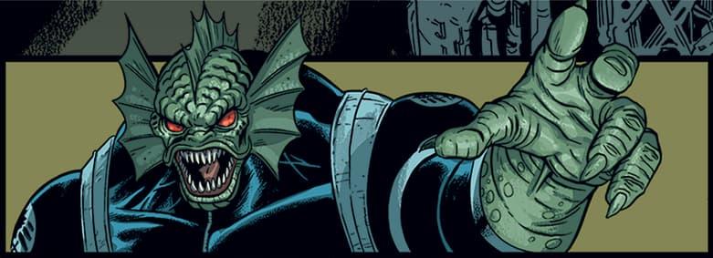 HOWLING COMMANDOS OF S.H.I.E.L.D. #2 Manphibian