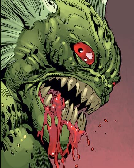 HULK (2008) #52 Manphibian