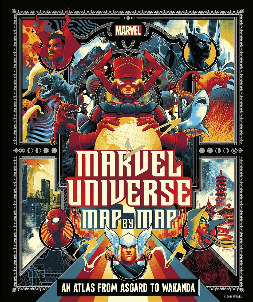 Marvel Universe: Map by Map