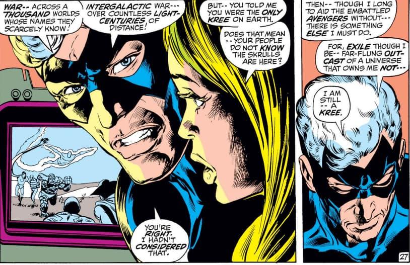Captain Marvel and Carol Danvers
