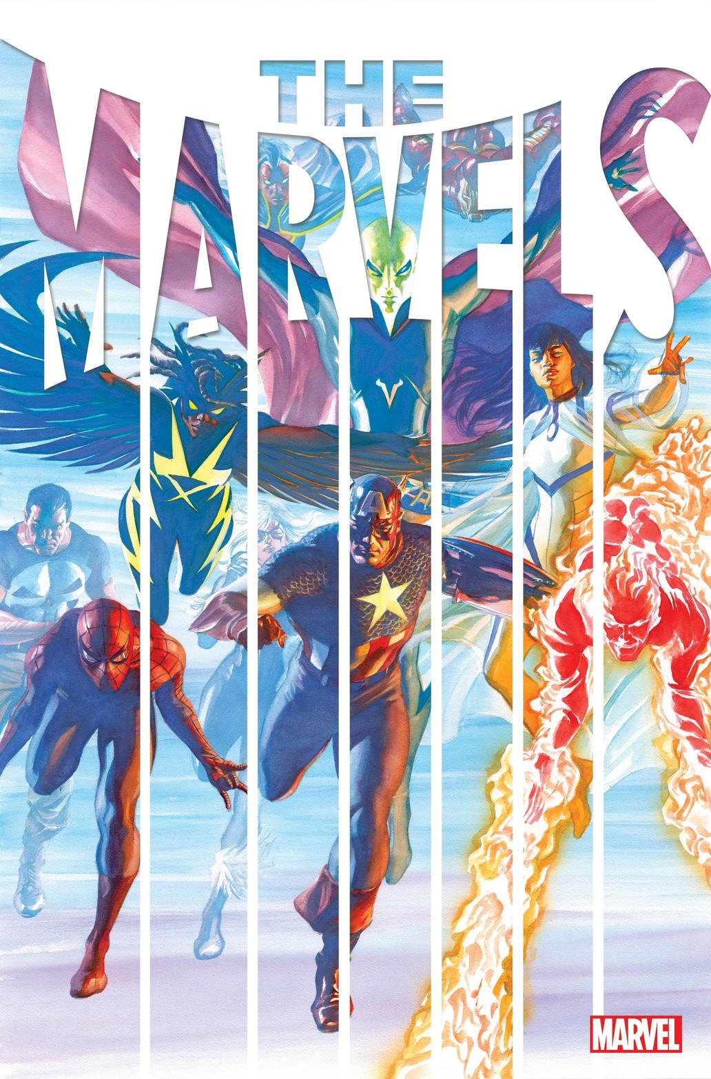 THE MARVELS #1 cover by Alex Ross