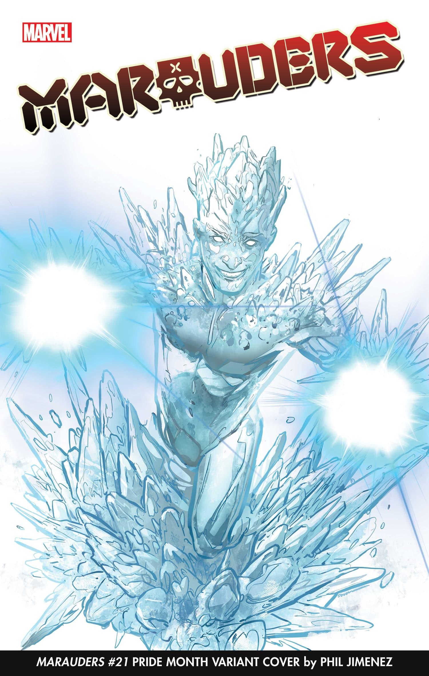 Phil Jimenez Iceman Pride Month Variant Cover
