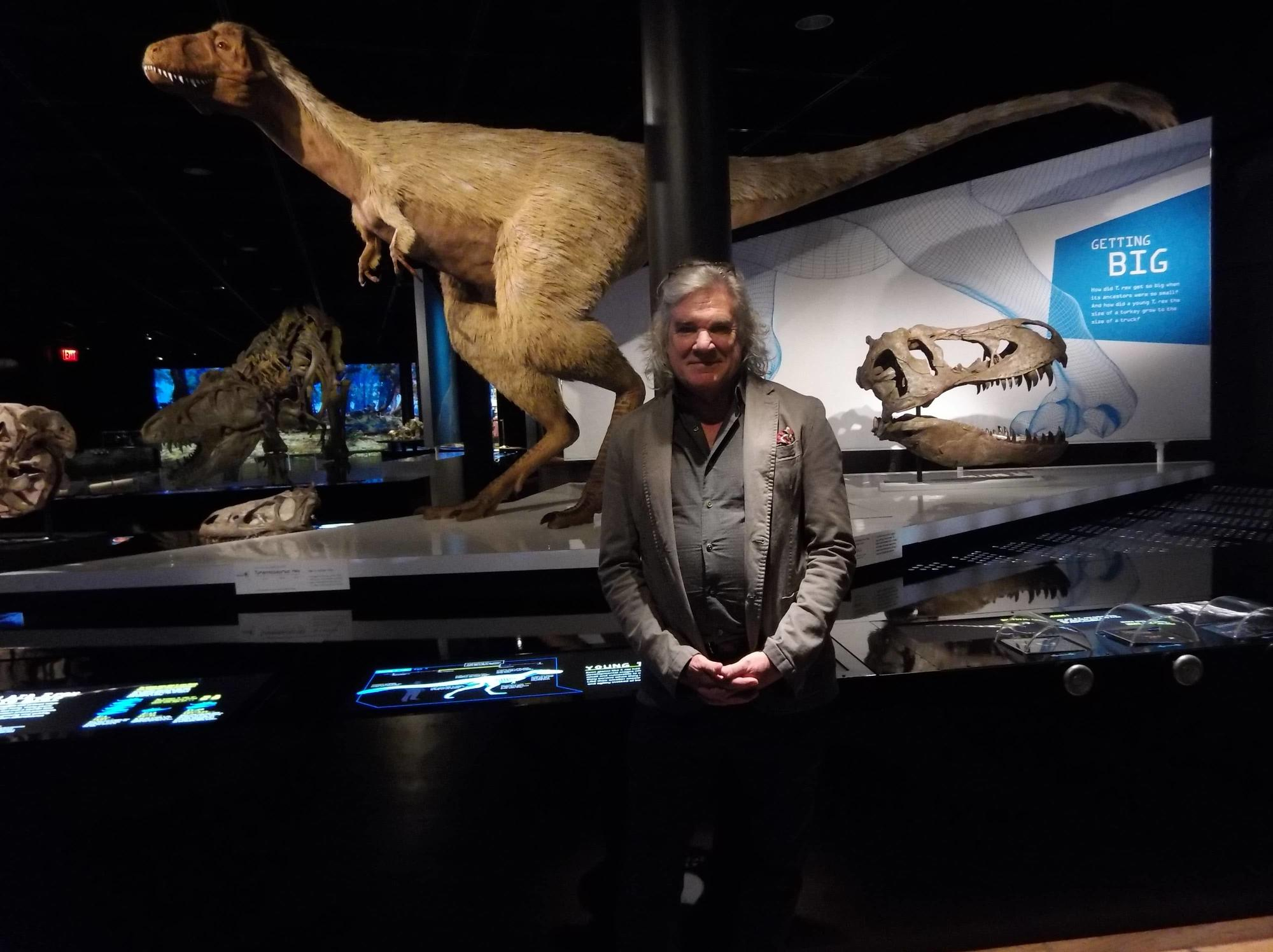 Mark Norell, Curator at the American Museum of Natural History