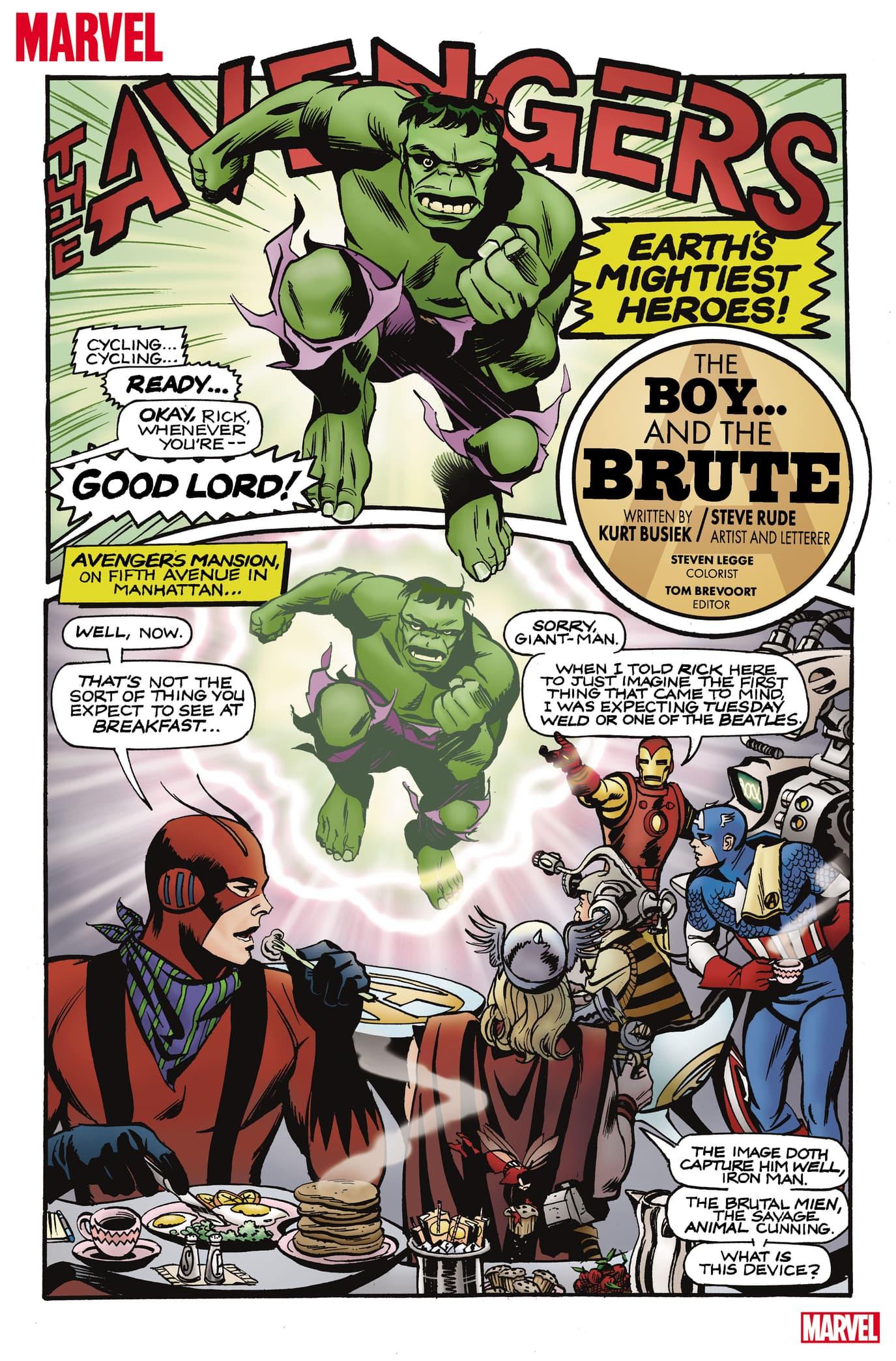 Marvel #1 Avengers story