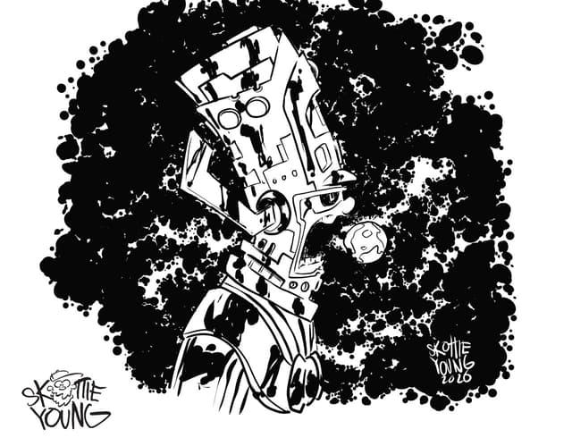 Galactus by Skottie Young