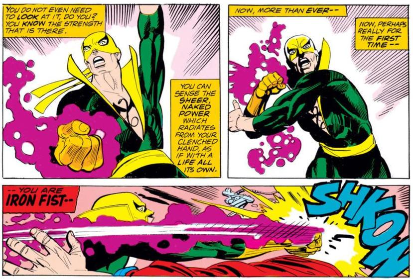 Iron Fist in Marvel Premiere #15