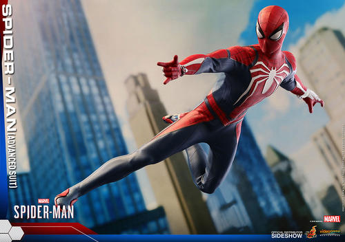 Spider-Man (Advanced Suit) Sixth Scale Figure by Hot Toys