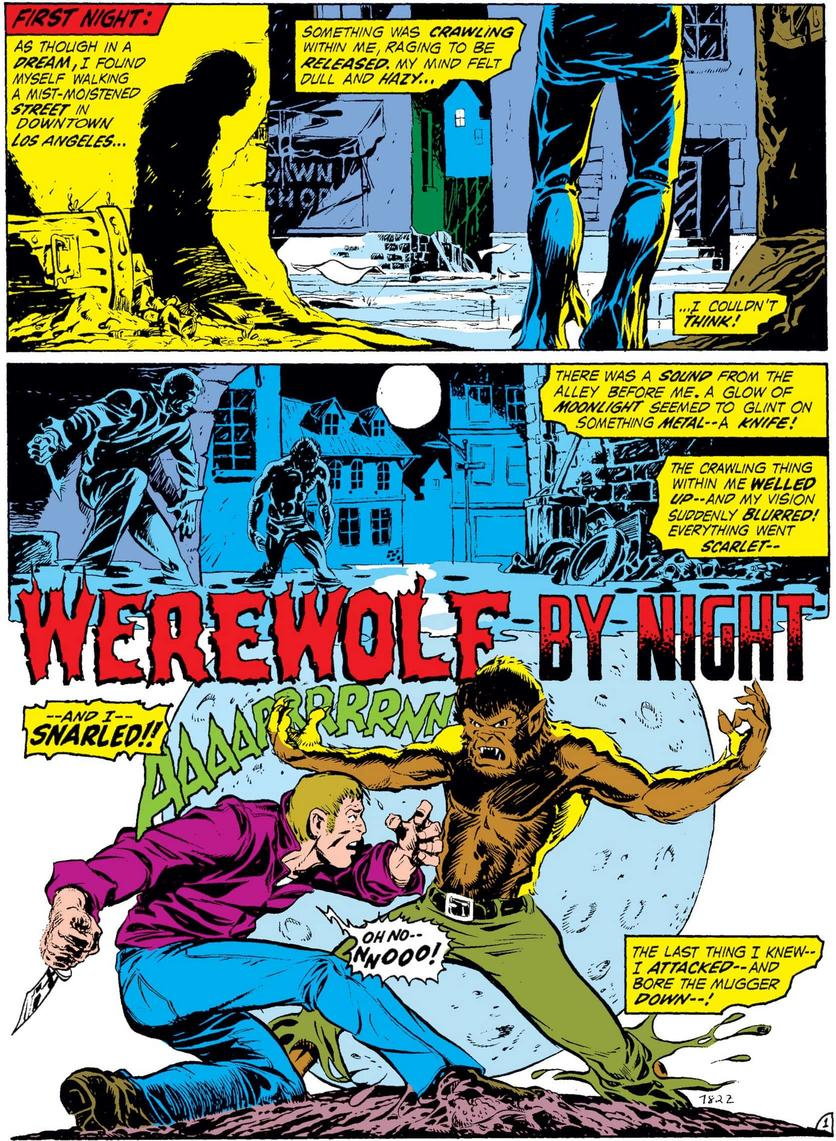 Werewolf by Night debut