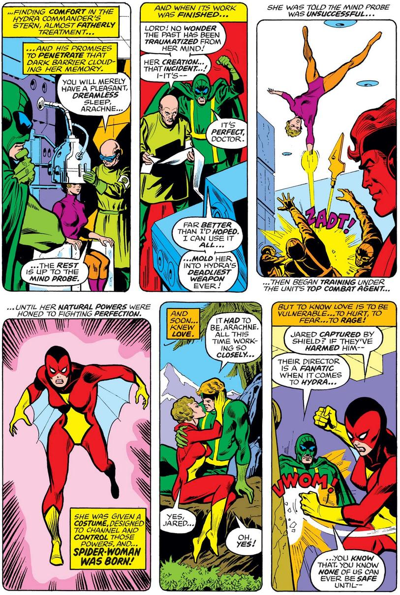 Spider-Woman origin