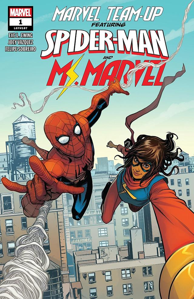 Cover of Marvel Team-Up #1