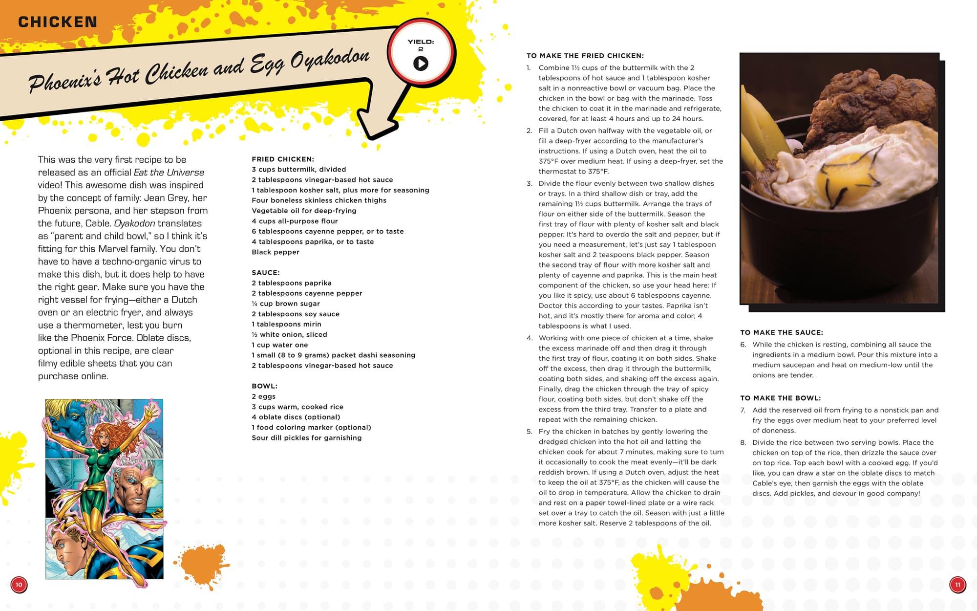 Eat the Unvierse recipe