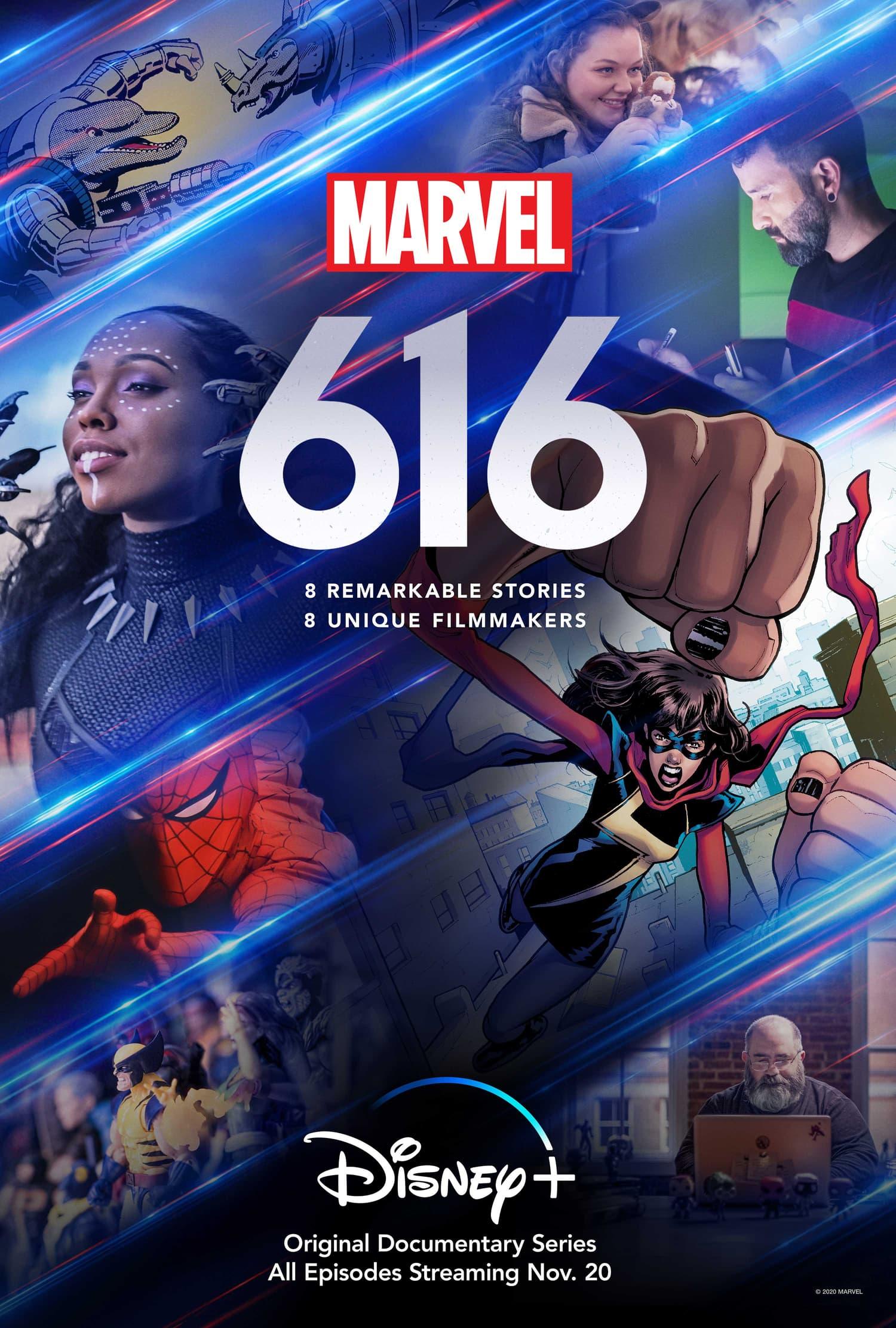 Marvel's 616 key art