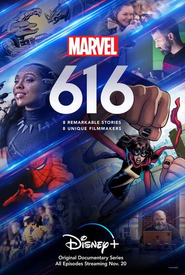 Marvel's 616 TV Show Poster Season 1