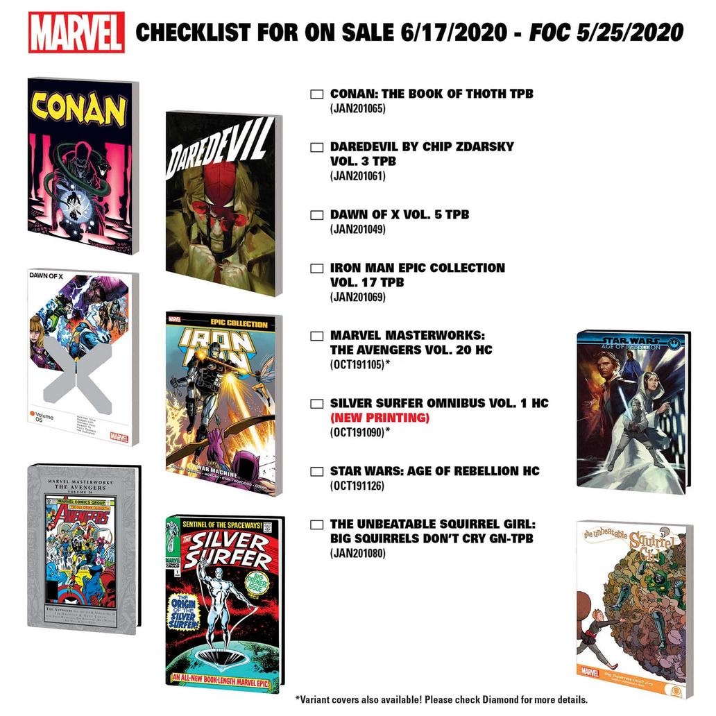 New Marvel Comics Collections Coming June 17