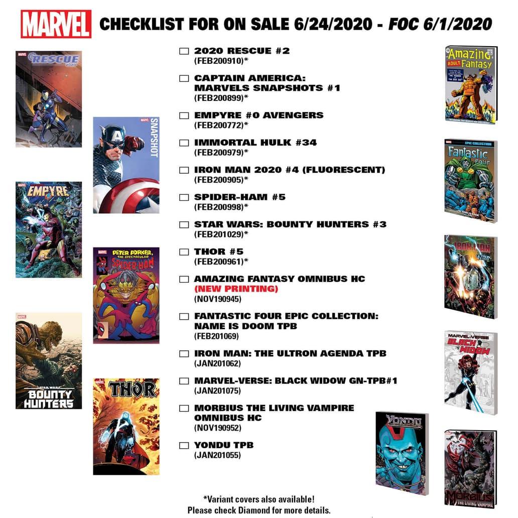 New Comics on Sale June 24