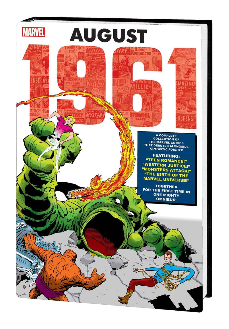 MARVEL: AUGUST 1961 OMNIBUS Direct Market variant cover by Jack Kirby
