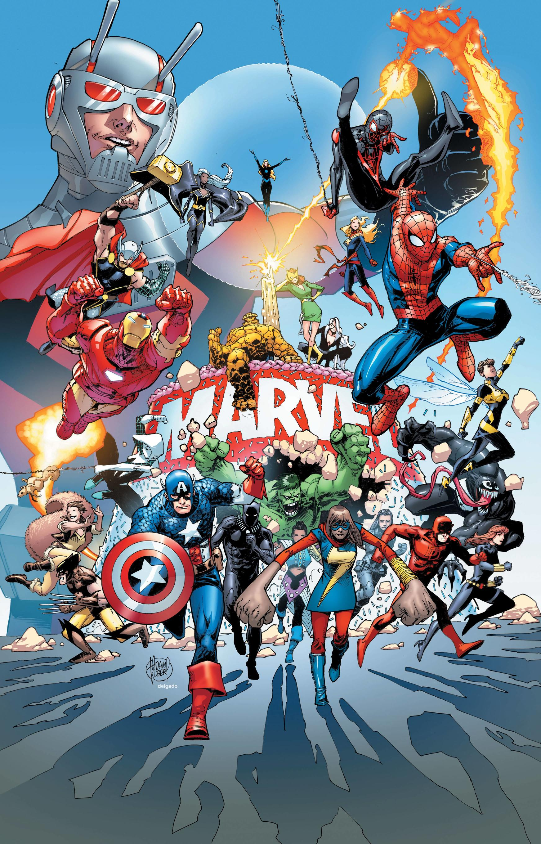 Marvel 80th