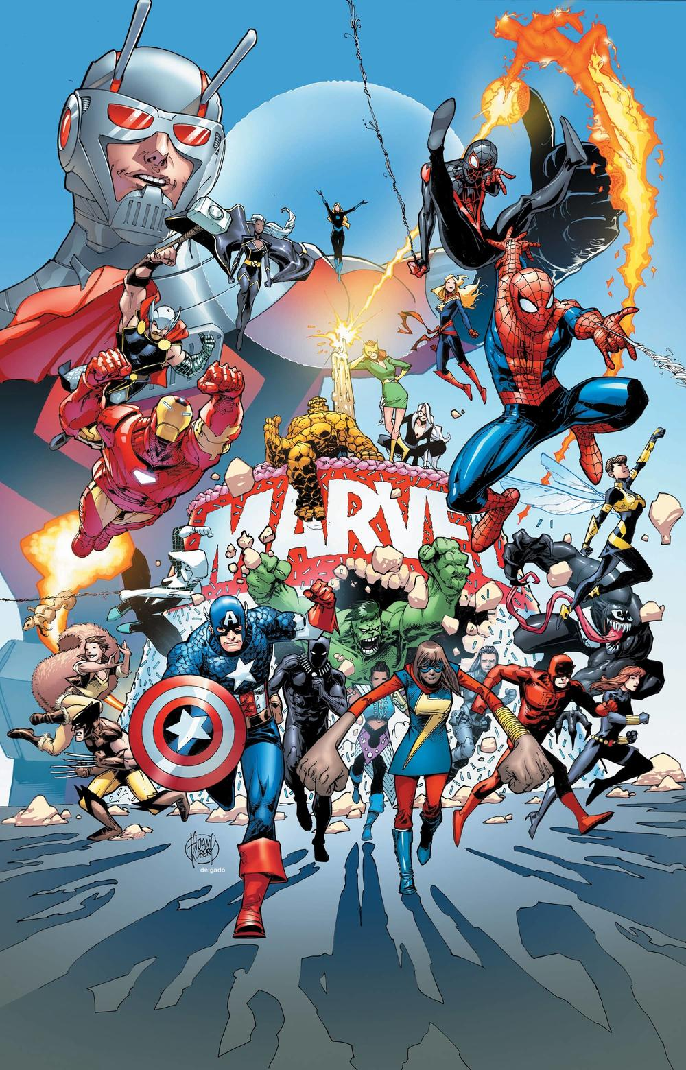 Marvel 80th birthday