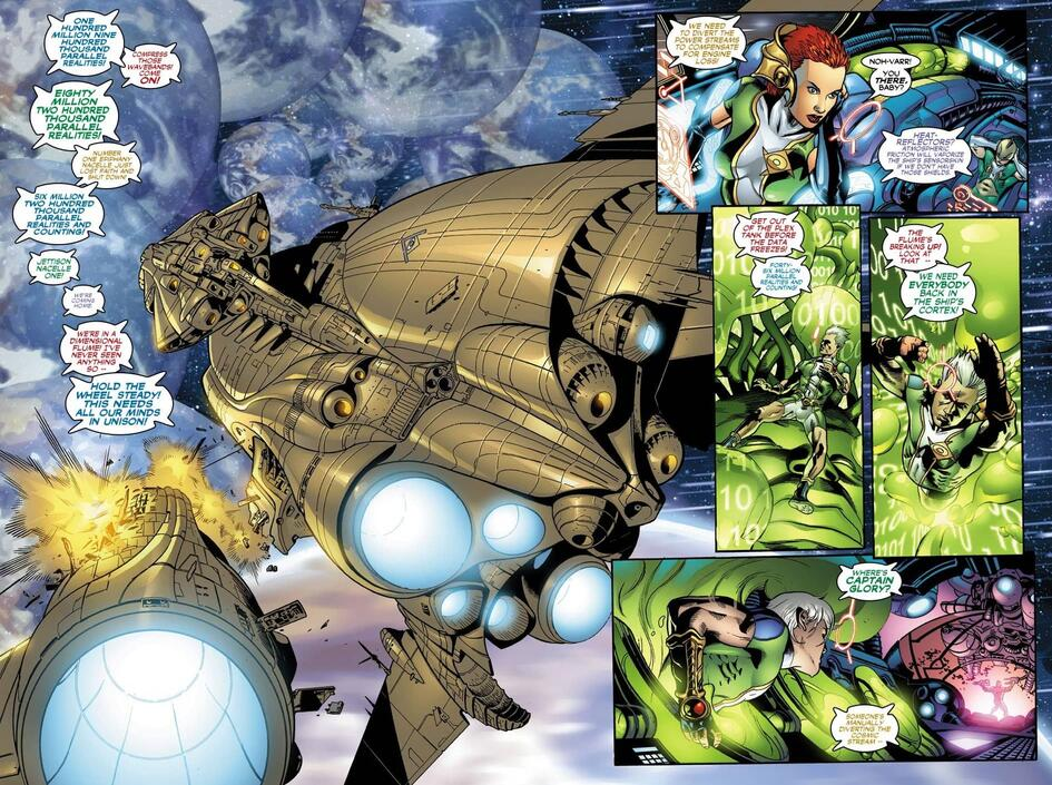 Noh-Varr and Kree hit a snag in their mission.