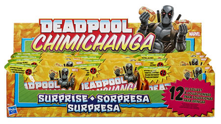 Marvel Deadpool Chimichanga Surprise with Mystery Filling Wave 2