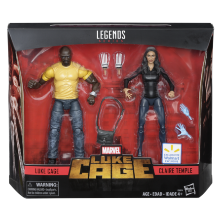 Marvel Legends Luke Cage & Claire Temple 2-Pack