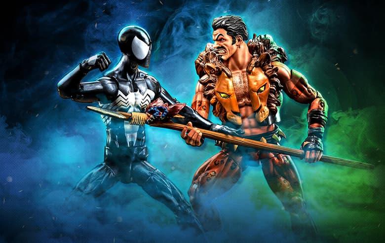 Marvel Legends Spider-Man and Kraven 2-Pack