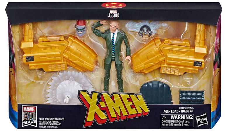 Professor X with Hover Chair