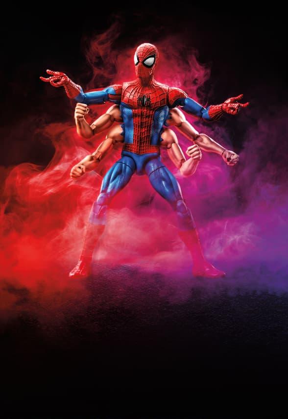 Six Arm Spider-Man Marvel Legends Figure
