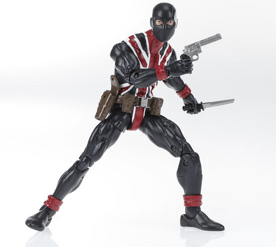 Union Jack Marvel Legends Figure