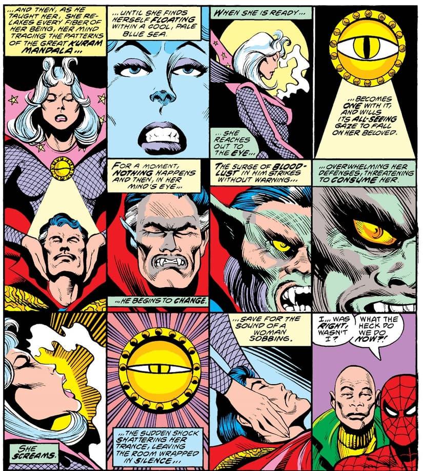 Doctor Strange: Werewolf in MARVEL TEAM-UP (1972) #80.