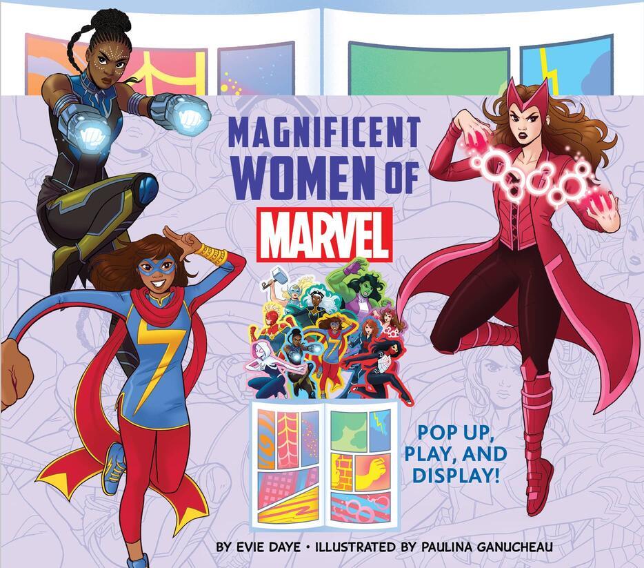MAGNIFICENT WOMEN OF MARVEL: POP UP, PLAY, AND DISPLAY!