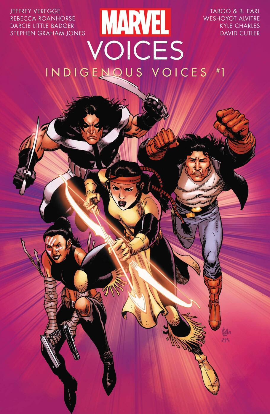 Cover to MARVEL'S VOICES: INDIGENOUS VOICES #1.