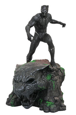 Marvel Movie Milestones Black Panther Resin Statue