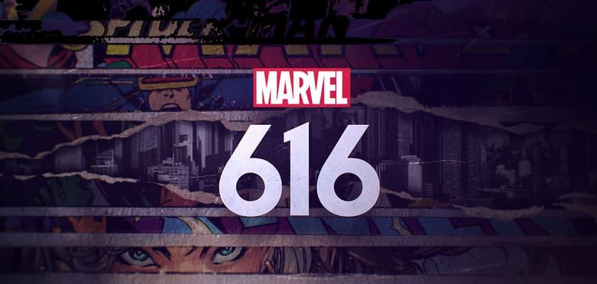 Marvel's 616 logo