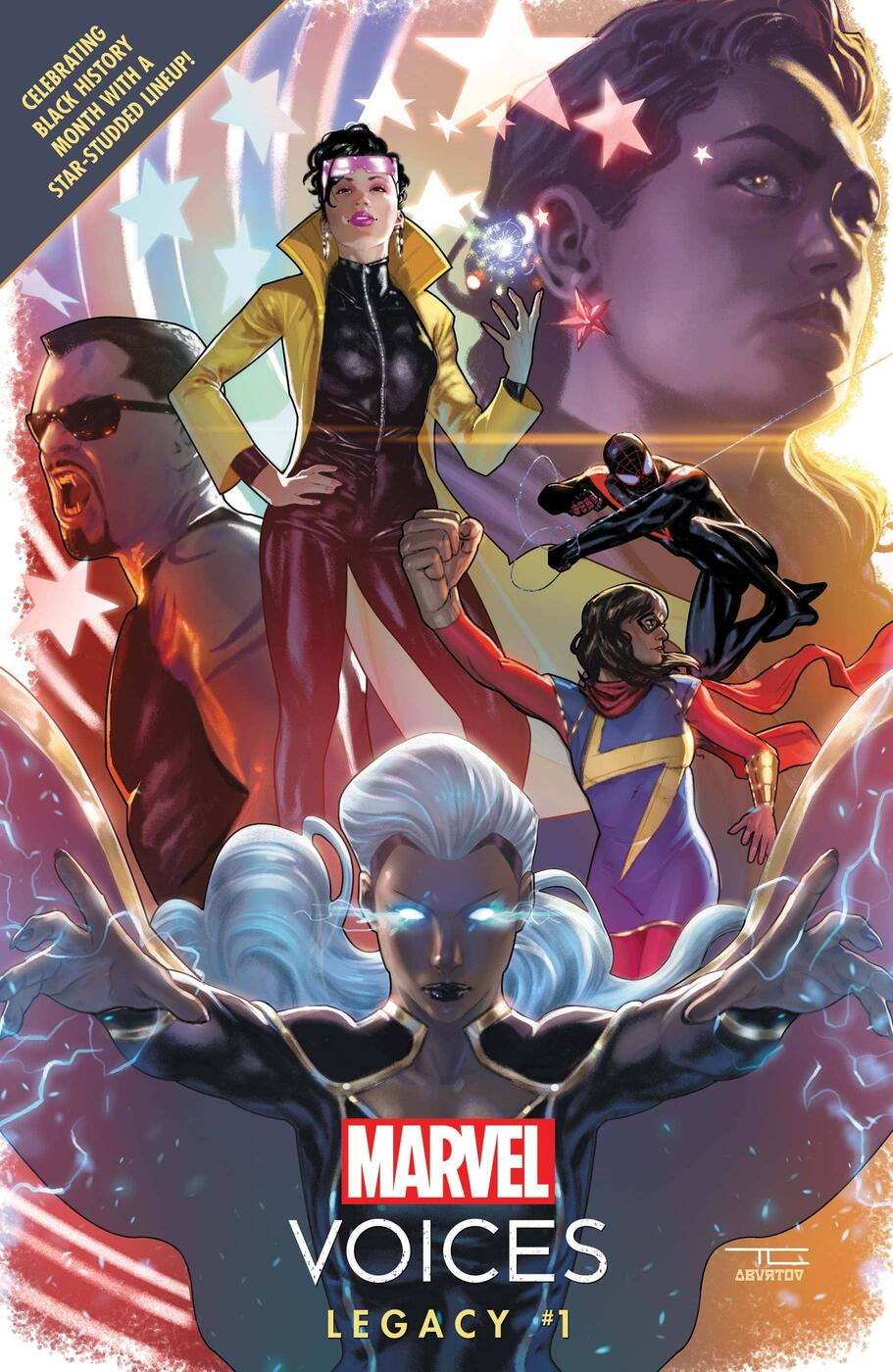 Cover to Marvel's Voices: Legacy #1