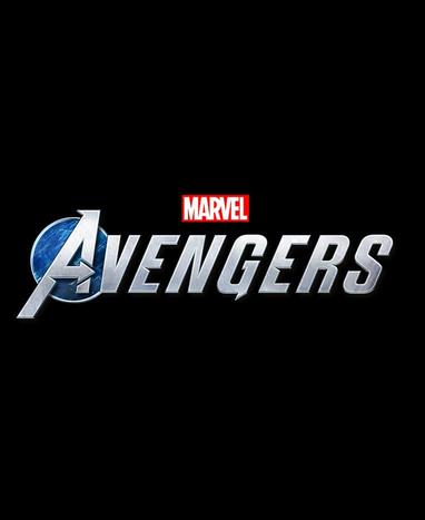 Marvel's Avengers Game Logo On Black
