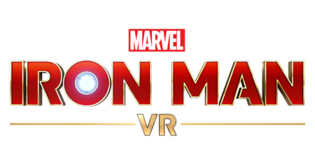 Marvel's Iron Man VR Game Logo On Black