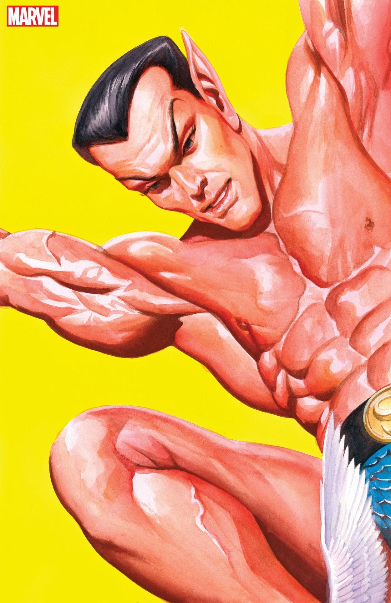 SUB-MARINER: MARVELS SNAPSHOT #1 cover by Alex Ross