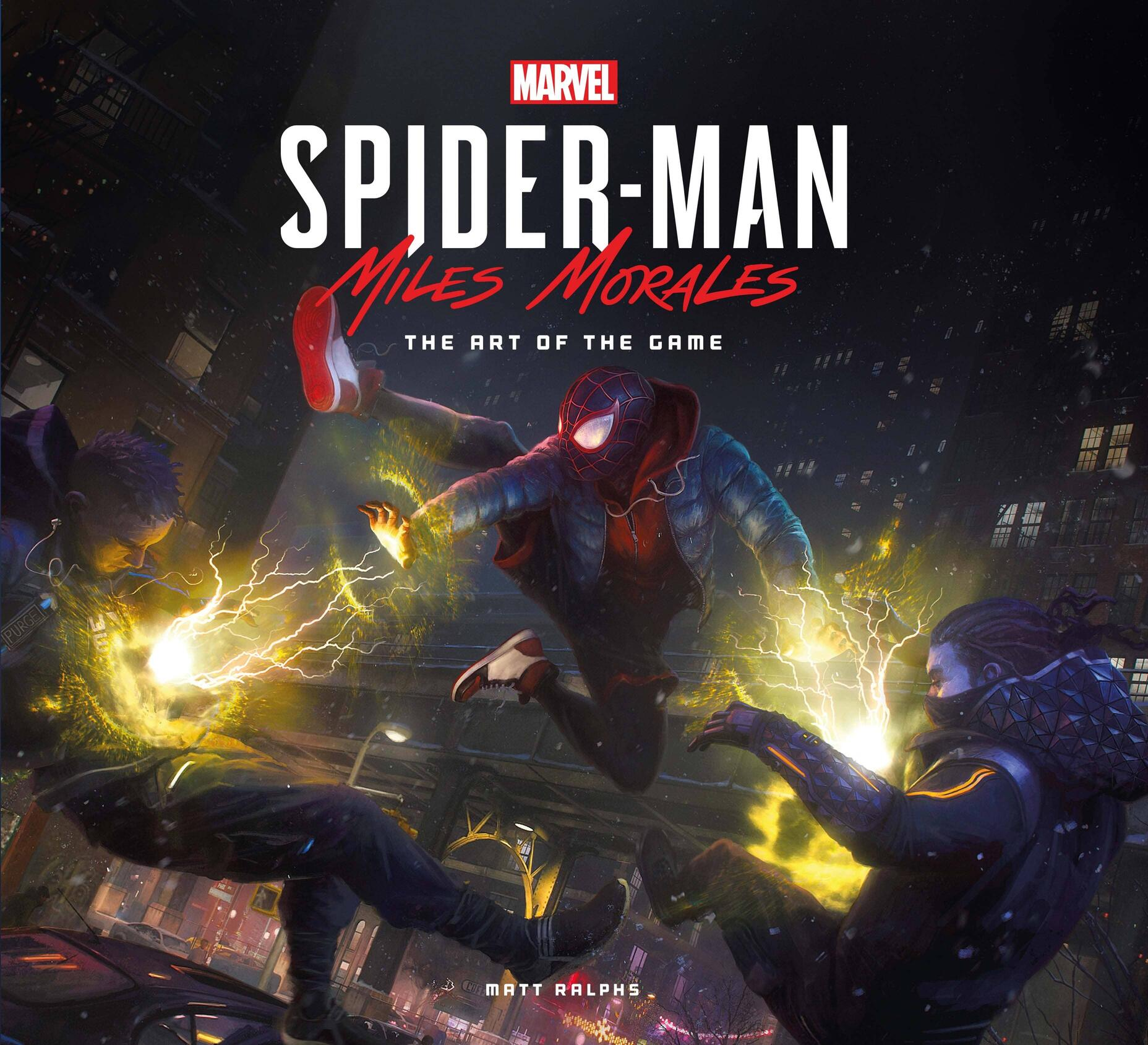 Marvel's Spider-Man: Miles Morales – The Art of the Game