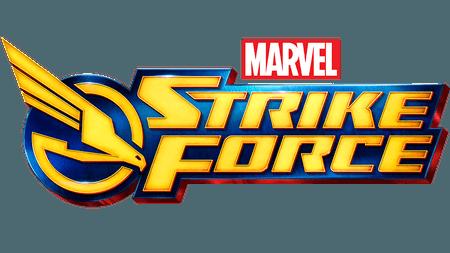 Marvel Strike Force Game Logo