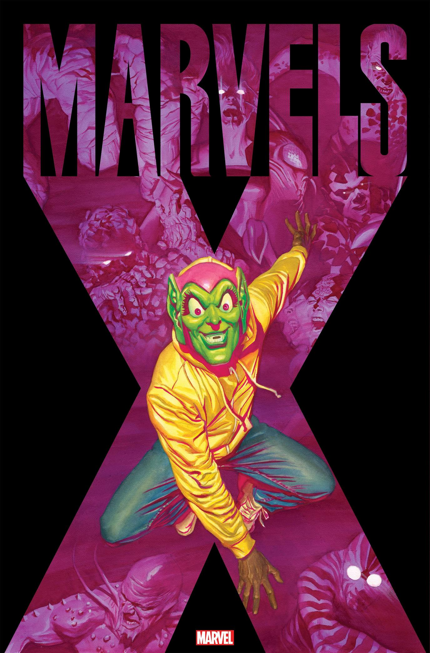 Marvels X #1 cover