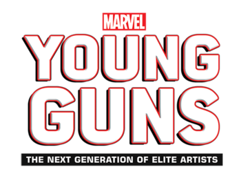 Marvel's Young Guns - The Next Generation of Elite Artists Logo