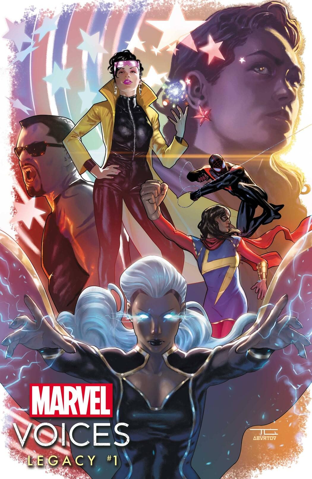 MARVEL'S VOICES: LEGACY #1 cover by Taurin Clarke