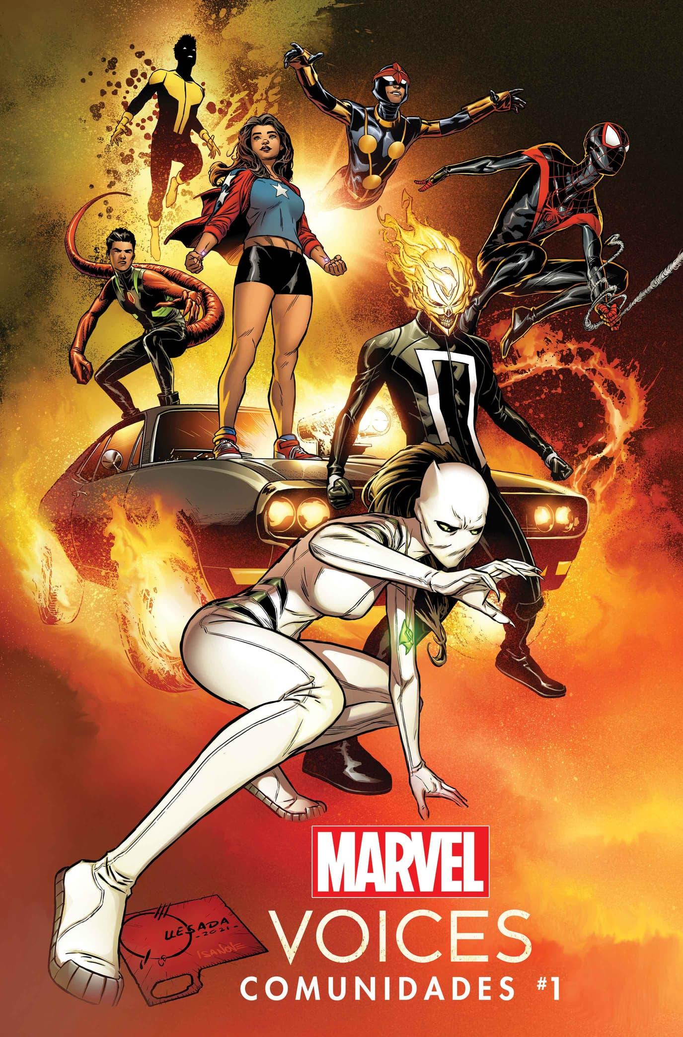 Marvel's Voices: Comunidades #1 Cover by Joe Quesada